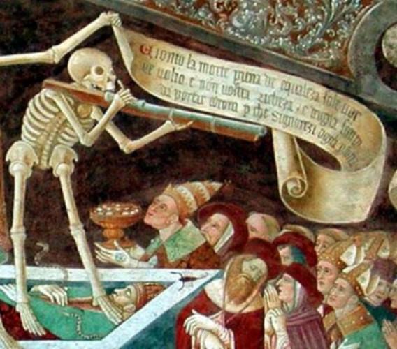 картина смерти: